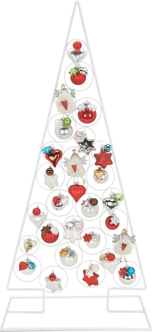 Okrasno Drevo Christmas Tree - bela, Trendi, kovina (118cm) - Mömax modern living