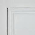 Vitrine Claudia Vintage - Weiß, KONVENTIONELL, Glas/Holz (84/118/40cm) - Mömax modern living