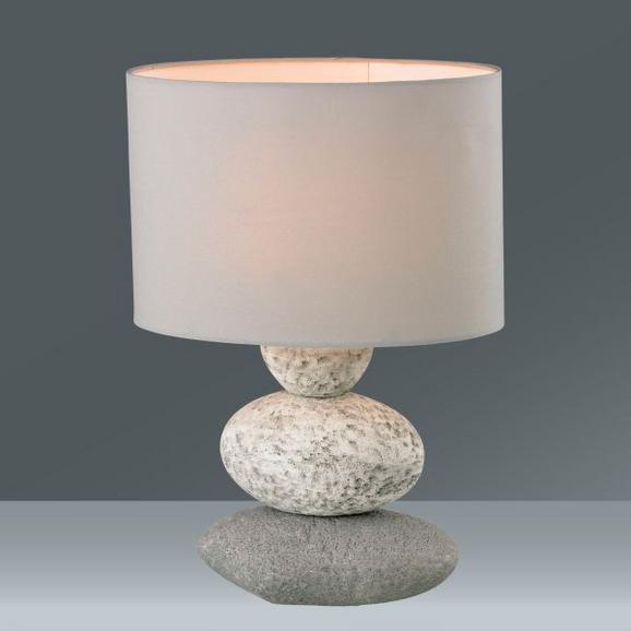 Namizna Svetilka Wendy - tekstil/keramika (24,5/34,5/15cm) - Mömax modern living