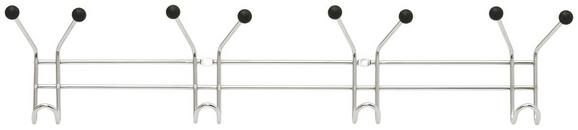 Stenski Obešalnik Karl - krom, kovina (60/12/5cm) - Mömax modern living