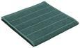 Brisača Anna - temno zelena, tekstil (30/50cm) - Mömax modern living