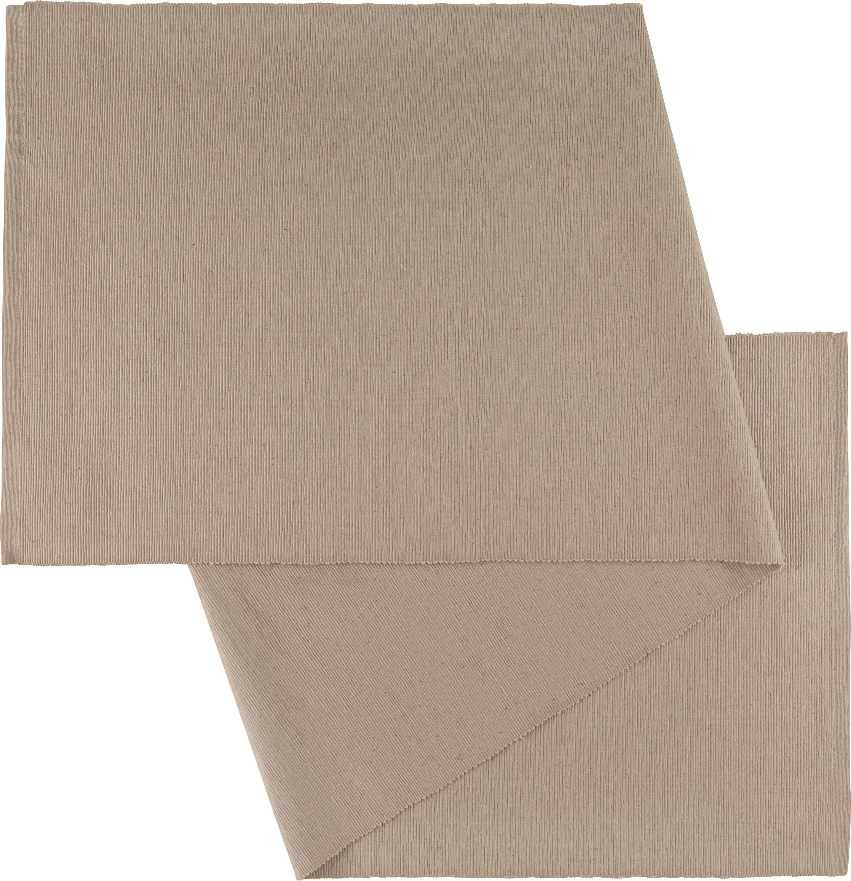 Asztali Futó Maren - szürke, textil (40X/150cm) - MÖMAX modern living