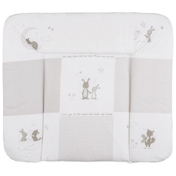 Wickelauflage Fox & Bunny ca. 85x75cm - (85/75cm)