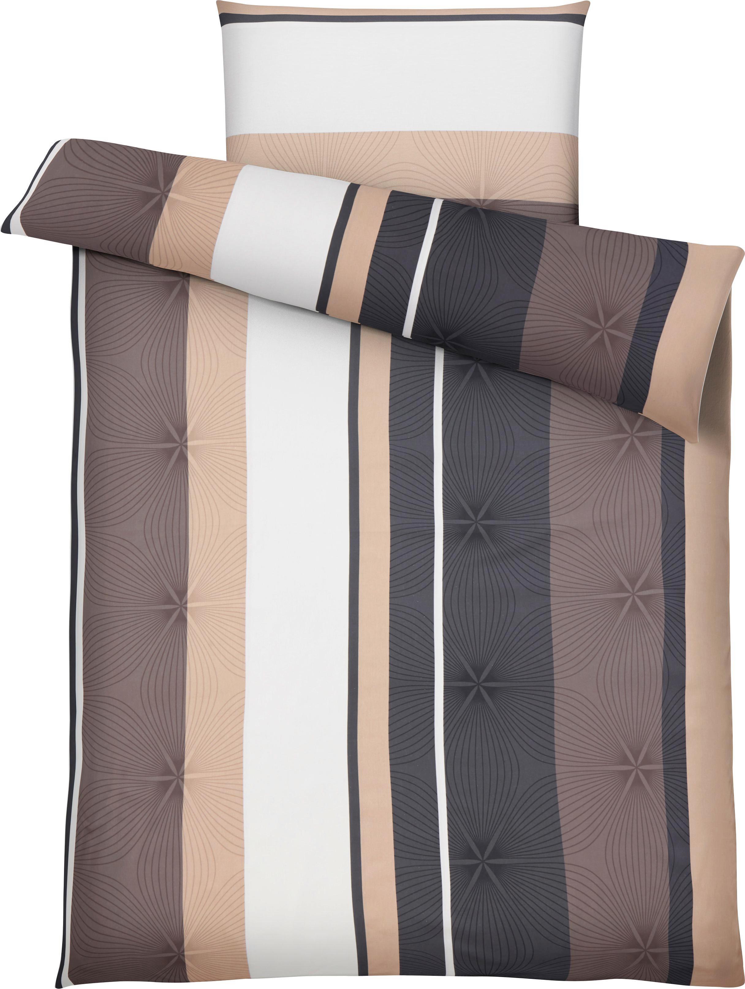 Bettwäsche Senta in Grau ca. 140x200cm - Grau, Textil (140/200cm) - MÖMAX modern living