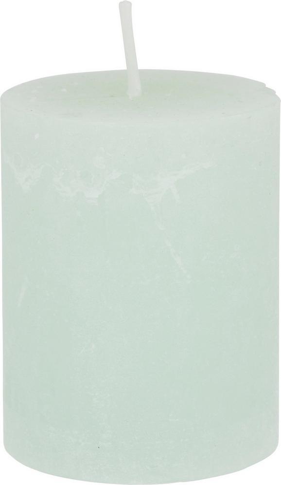 Sveča Lia - svetlo zelena, Moderno (6,8/9cm) - MÖMAX modern living
