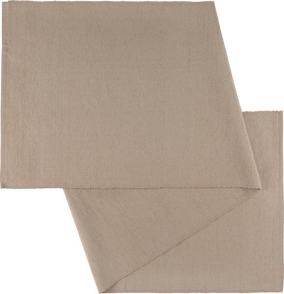 Tischläufer Maren in Stein - Grau, Textil (40X/150cm) - Mömax modern living