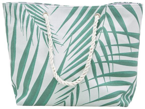 Strandtasche Lenara Grün - Grün, Textil (57,5/40cm) - Mömax modern living
