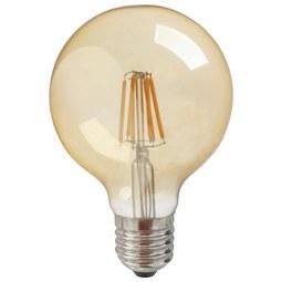 Deko-Leuchtmittel max. 6 Watt - Graphitfarben, Glas (9,5cm) - Mömax modern living