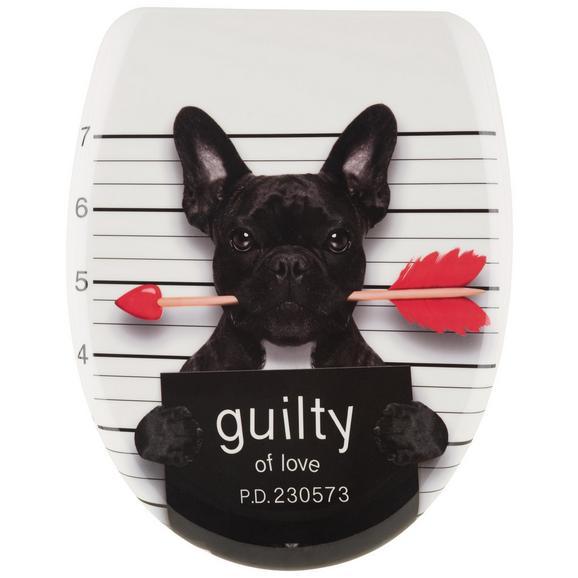 Deska Za Wc-školjko Guilty Dog -sb- - večbarvno, Moderno, umetna masa (38/45cm)