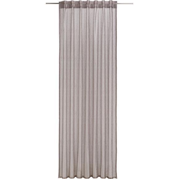 Schlaufenvorhang Elsa Taupe ca. 140x245cm - Taupe, ROMANTIK / LANDHAUS, Textil (140/245cm) - Mömax modern living