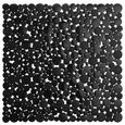 DUSCHEINLAGE Stone in verschiedenen Farben - Schwarz/Weiß, Kunststoff (52cm) - Mömax modern living