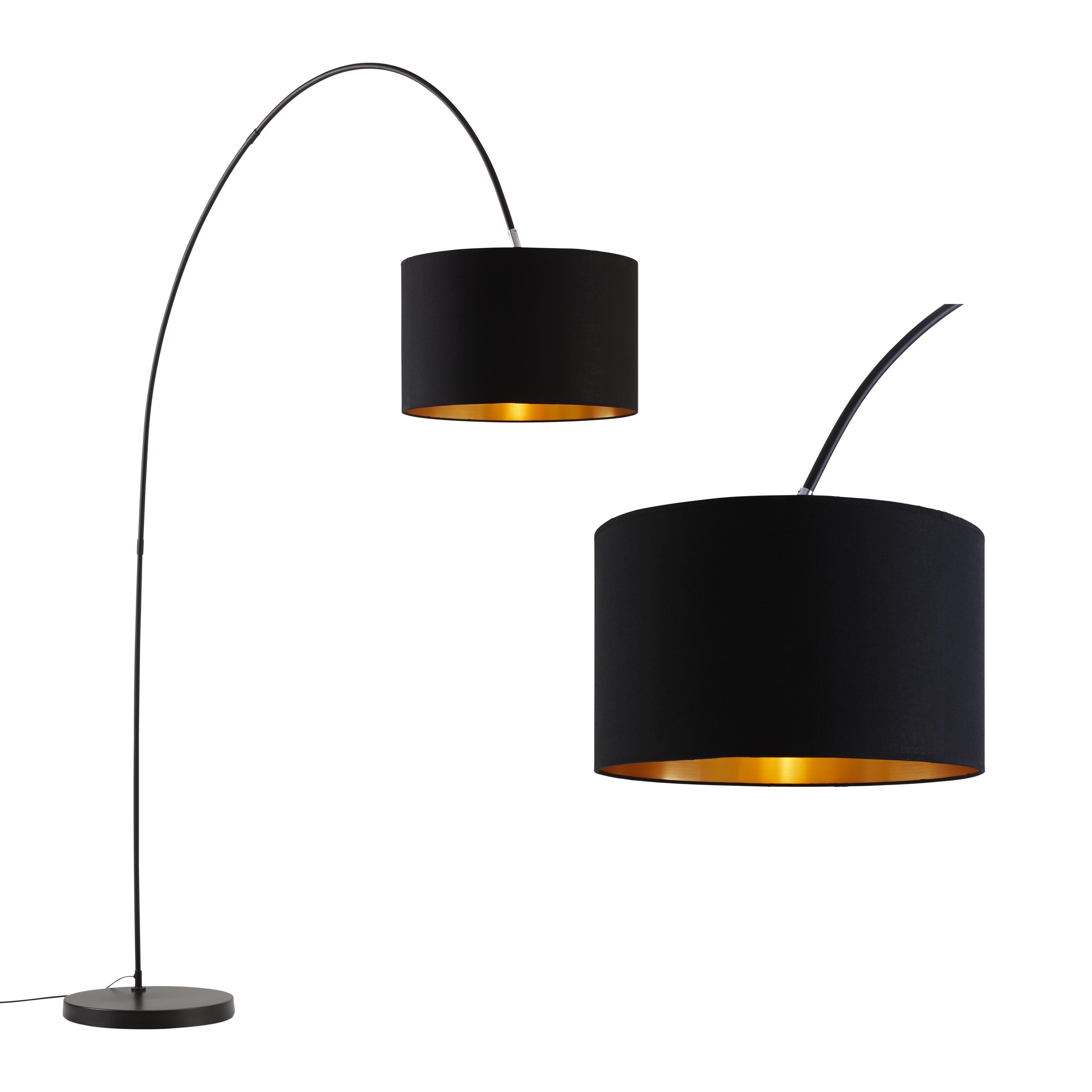 Momax Stehlampe Schwarz