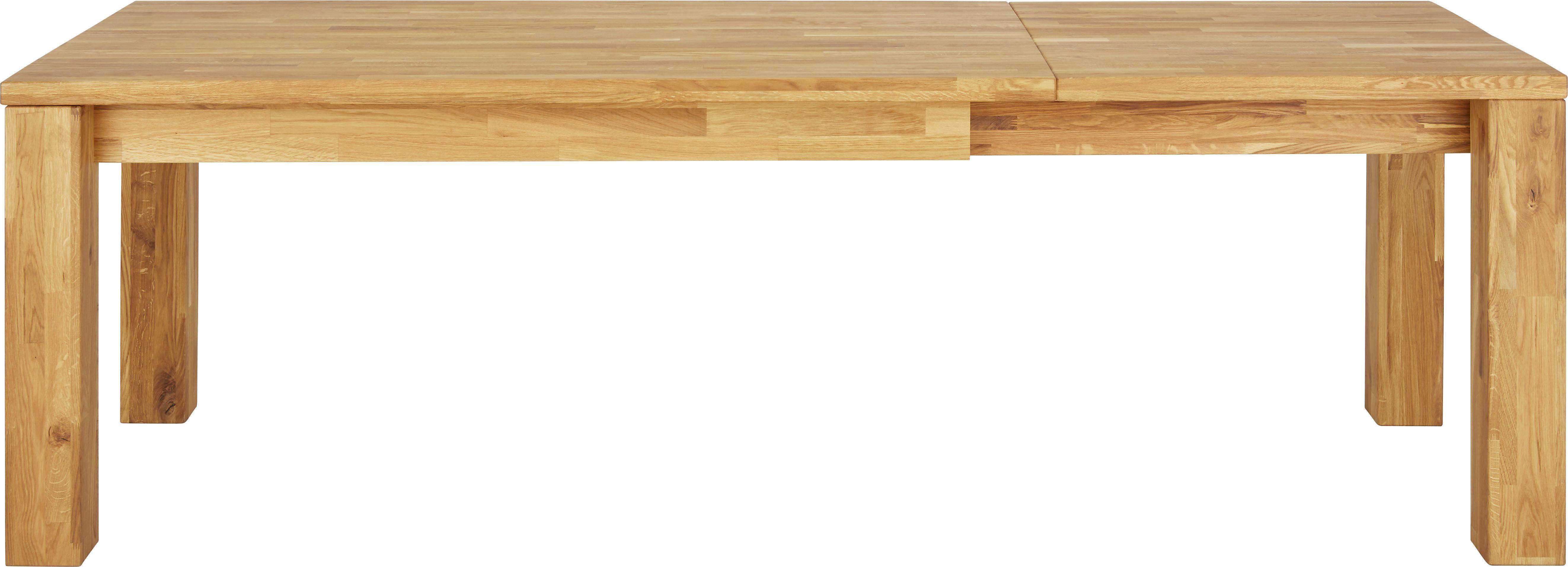 Ausziehtisch in Eichefarben - Eichefarben, MODERN, Holz (160/75,5/90cm) - ZANDIARA