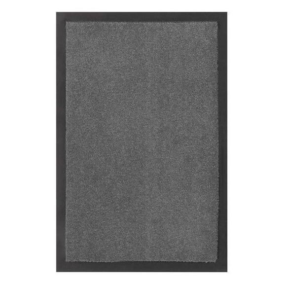 Fußmatte Eton Grau, ca. 40x60cm - Grau, LIFESTYLE, Textil (40/60cm) - Mömax modern living