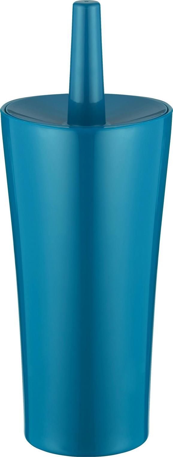 WC-Bürste Bella Petrol - Petrol, Kunststoff (12,4/32,5cm) - Mömax modern living