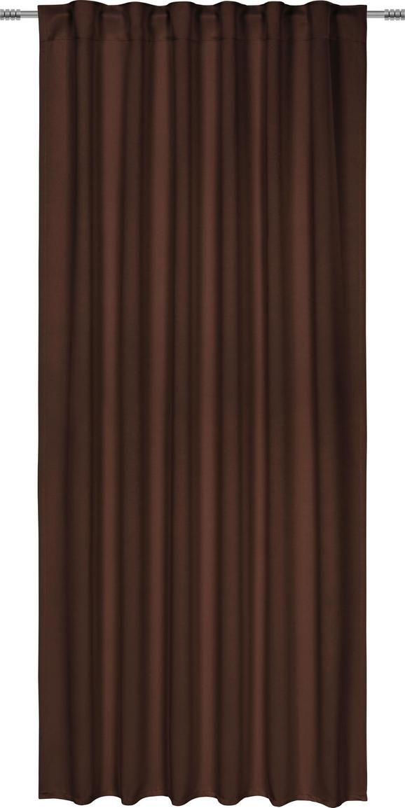 Verdunkelungsvorhang Riccardo, ca. 140x245cm - Braun, MODERN, Textil (140/245cm) - Premium Living