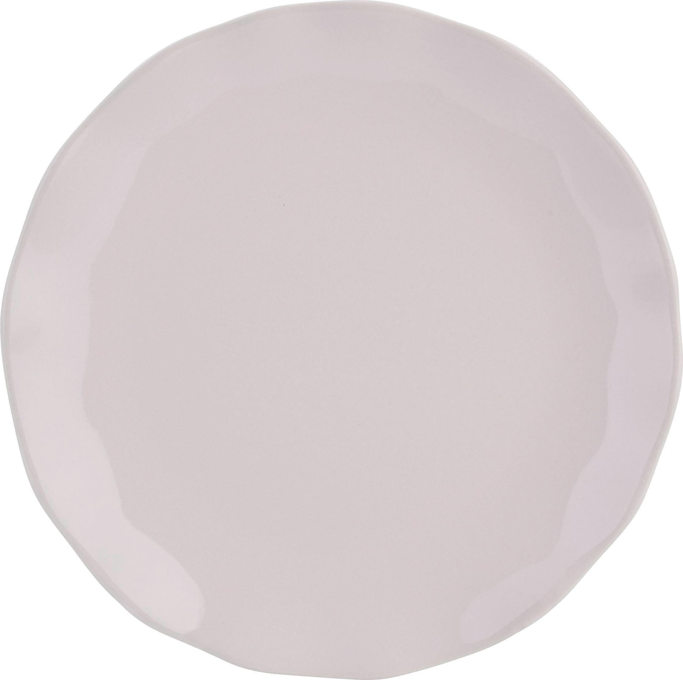 Desszertes Tányér Pauline - rózsaszín, romantikus/Landhaus, kerámia (19cm) - ZANDIARA