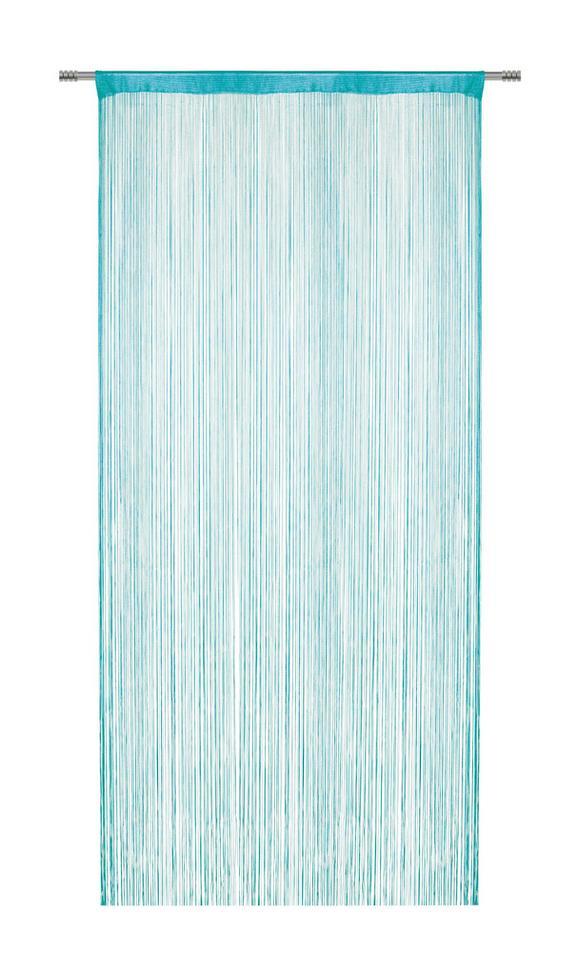 Nitasta Zavesa Franz - petrolej, tekstil (90/245cm) - Mömax modern living
