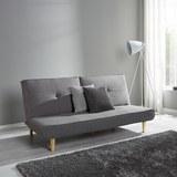 Schlafsofa Katja - Grau, MODERN, Holz/Textil (183/85/94cm) - Modern Living