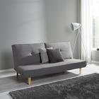Sofa Katja mit Schlaffunktion - Grau, MODERN, Holz/Textil (183/85/94cm) - Modern Living