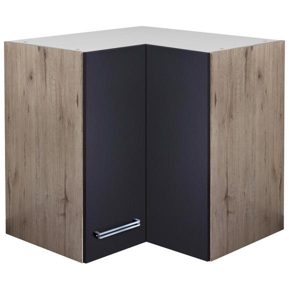 eckoberschrank anthrazit eiche online kaufen m max. Black Bedroom Furniture Sets. Home Design Ideas