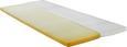 Topper Aus Viscoschaum ca.90x200cm - KONVENTIONELL, Textil (90/200cm) - Nadana