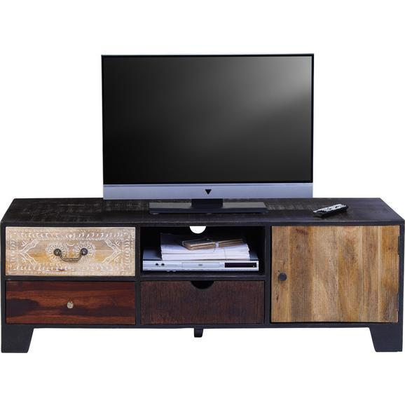 Tv Element Peru - boje zlata/višebojno, Lifestyle, drvni materijal/metal (148/50/45cm) - Zandiara