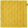 Kissenhülle Mary Samt Messing 45x45cm - Messingfarben, MODERN, Textil (45/45cm) - Mömax modern living