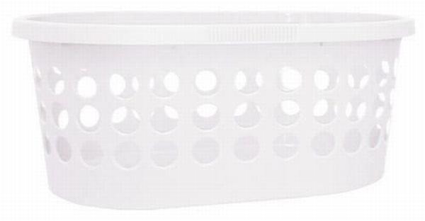 Ruháskosár Springfield - fehér, műanyag (39/59/24cm) - MÖMAX modern living