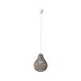 Viseča Svetilka Jade - siva, Romantika, naravni materiali (30/147cm) - Mömax modern living