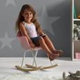 Kinderschaukelstuhl Bobby - Rosa, MODERN, Holz/Kunststoff (41,5/60/54cm) - Mömax modern living
