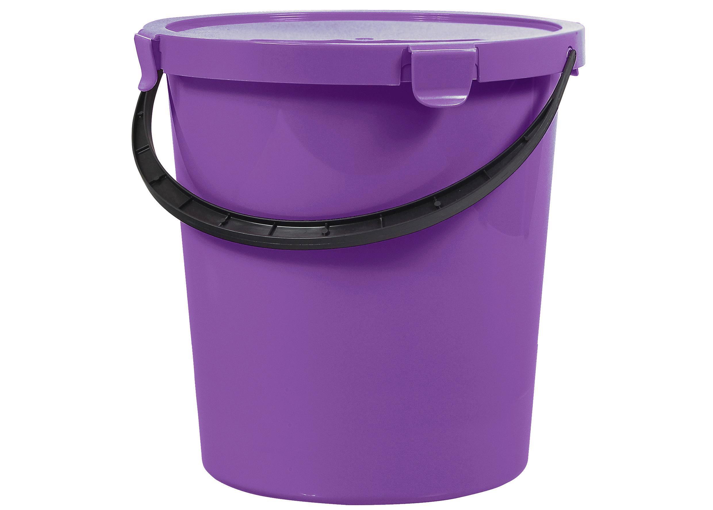 Vödör Tetővel Berry - lila/pink, műanyag (5l) - MÖMAX modern living