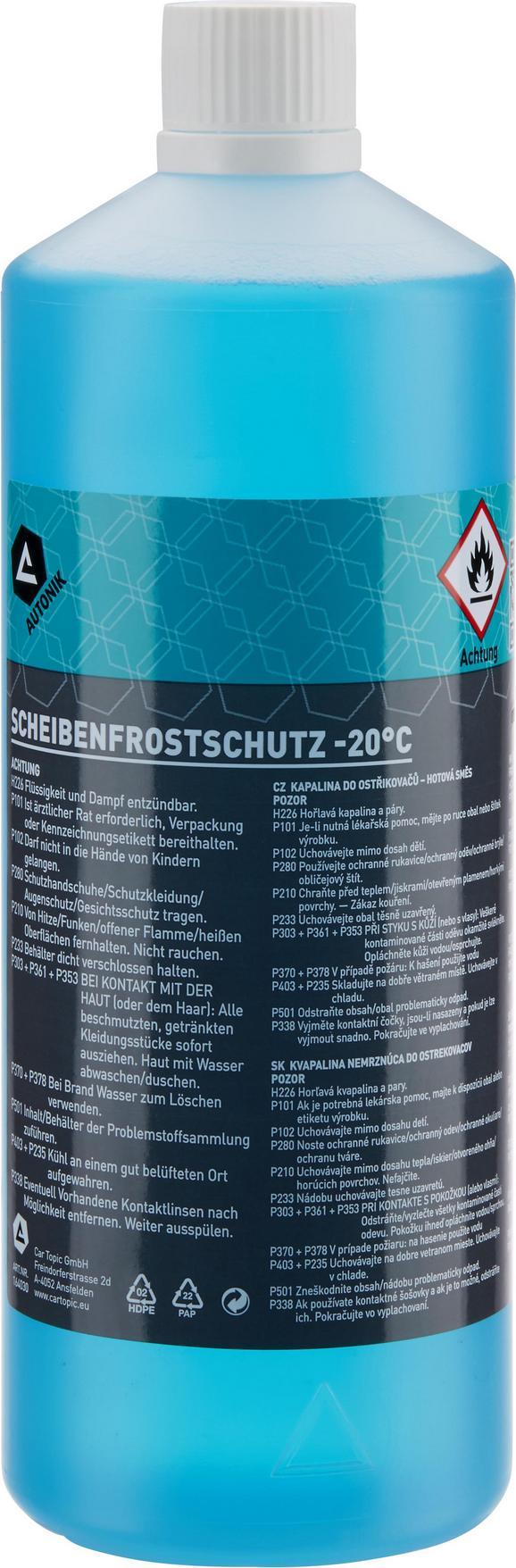 Scheibenfrostschutz Niklas, ca. 1 Liter - KONVENTIONELL (8,5/24,5cm)