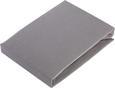 Spannleintuch Basic ca. 150x200cm - Grau, Textil (150/200cm) - Mömax modern living