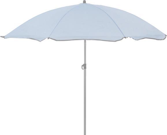 Napernyő Lecci - világos kék/szürke, műanyag/textil (180/190cm) - MÖMAX modern living