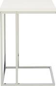 Beistelltisch in Weiß aus Holz/metall - MODERN, Holz/Metall (38/62,5/43cm) - Mömax modern living
