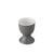 Eierbecher Sandy aus Keramik - Grau, KONVENTIONELL, Keramik (4,8/6,5cm) - Mömax modern living