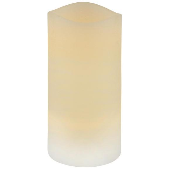 Sveča Z Led-diodo Leonie - krem, umetna masa (7,5/14cm) - Mömax modern living