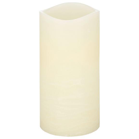 Lumânare Cu Led Rene - crem, plastic (10/20cm) - Modern Living