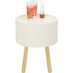 Kisasztal Alena - barna/fehér, modern, fa/faanyagok (38/45/38cm) - MÖMAX modern living
