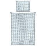 Ágyneműhuzat Dotty - Fehér/Kék, modern, Textil (140/200cm) - Mömax modern living