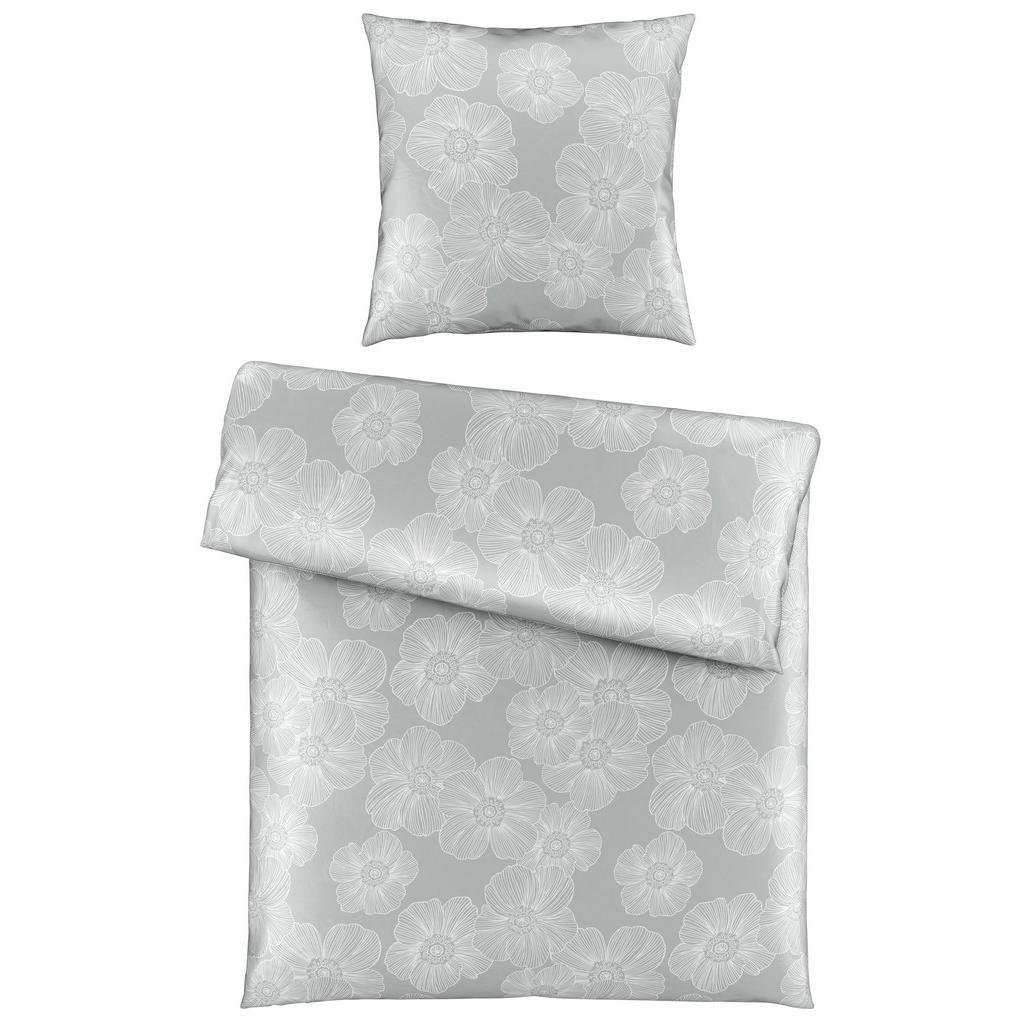 bettw sche elli hellgrau 135x200cm schuermanns backstube. Black Bedroom Furniture Sets. Home Design Ideas