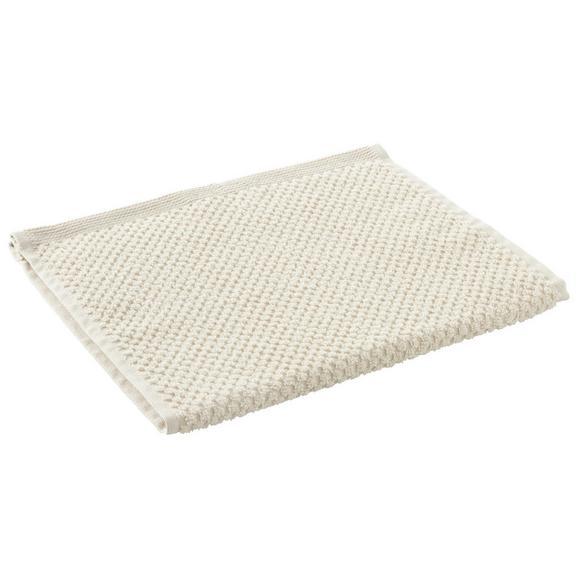 Gästetuch Juliane Beige - Beige, Textil (30/50cm) - Premium Living