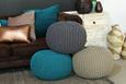 Sedežna Blazina Aline - petrolej, tekstil (55/35cm) - Premium Living