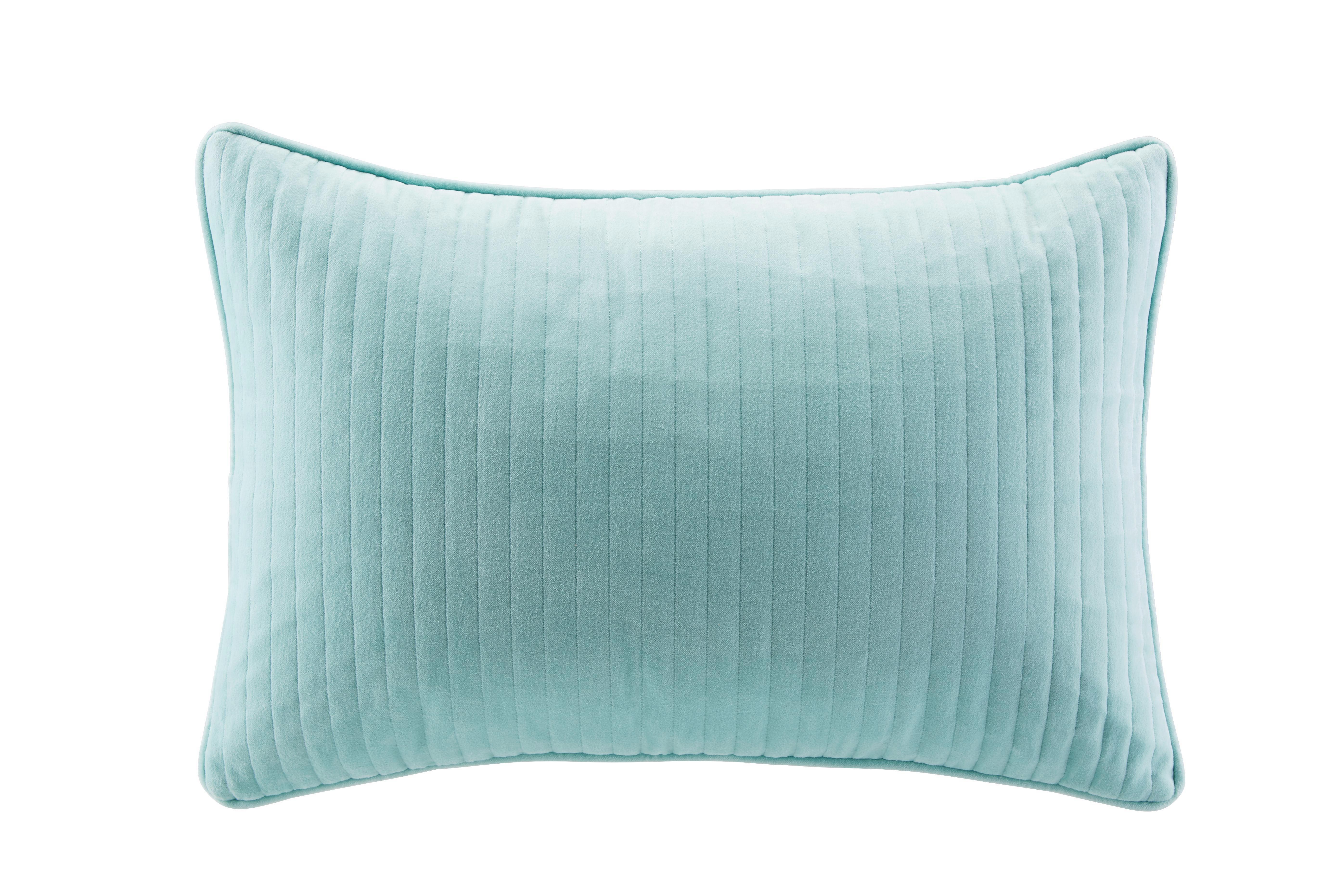 Zierkissen Elena in Blau, ca. 40x60cm - Blau, ROMANTIK / LANDHAUS, Textil (40/60cm) - MÖMAX modern living