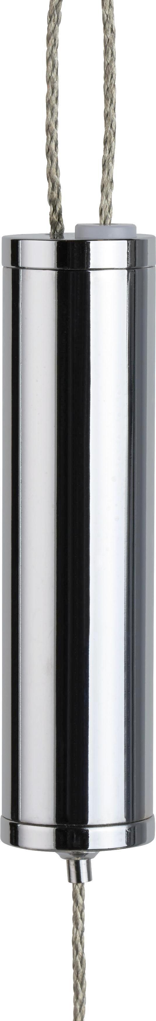 LED-Hängeleuchte Mathis - Chromfarben, MODERN, Glas/Kunststoff (80/10/150cm) - MÖMAX modern living