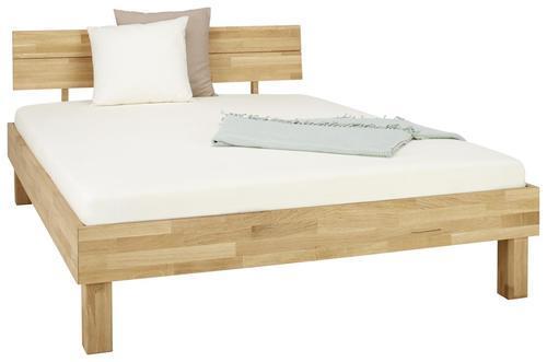 Image of Bett aus Eiche massiv ca. 145x80cm