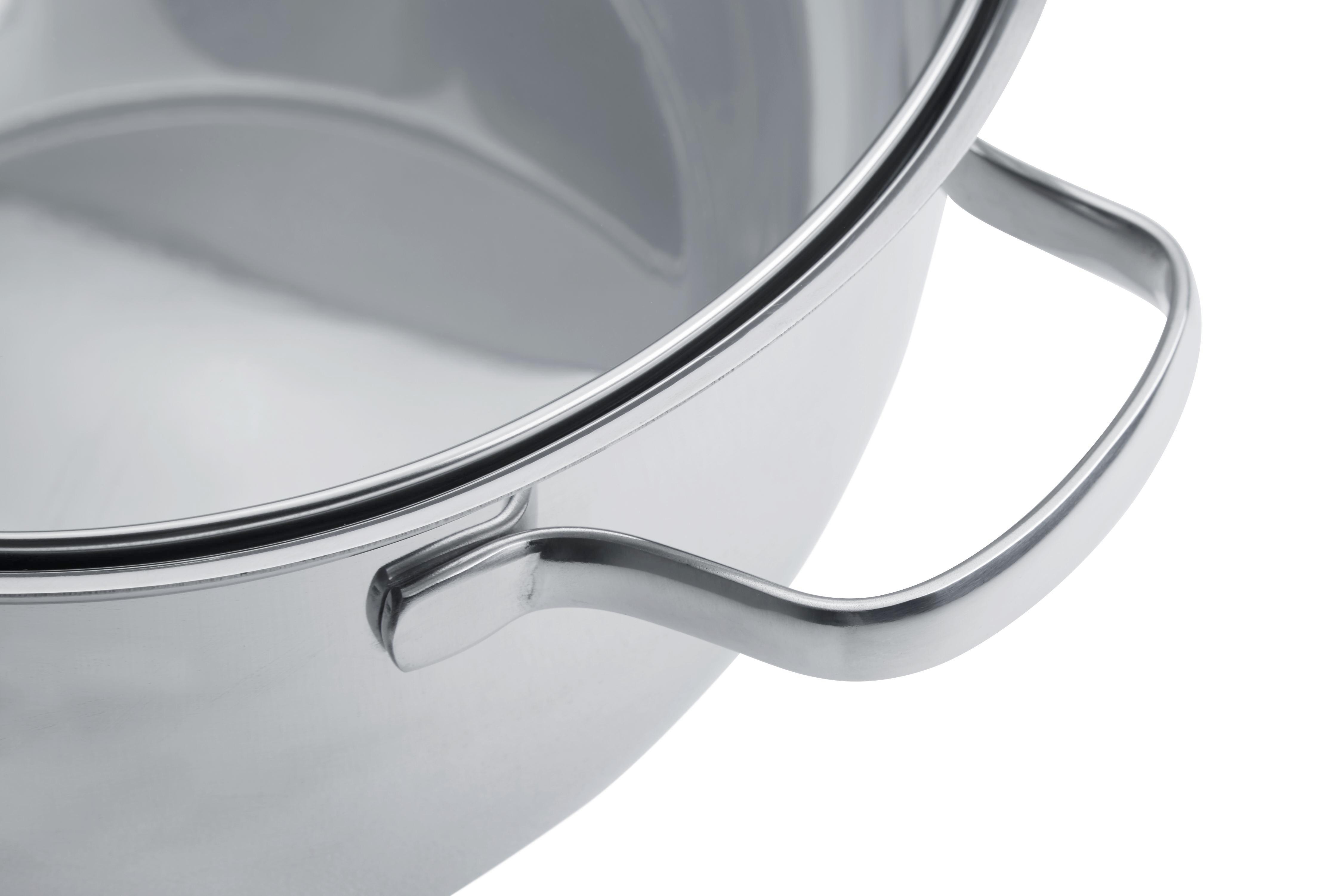 Bräter Rösle - Edelstahlfarben, KONVENTIONELL, Glas/Metall (38/25,5/11,8cm) - RÖSLE