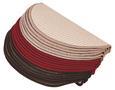 Predpražnik Za Stopnice Birmingham - rdeča/bež, Konvencionalno, tekstil (25/65cm) - Esposa