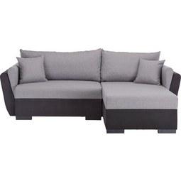 Sedežna Garnitura Lugano - siva/svetlo siva, Moderno, tekstil (230/84/167cm) - BASED